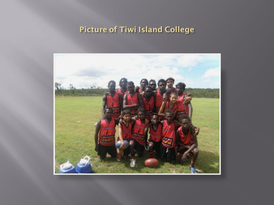 Picture of Tiwi Island College