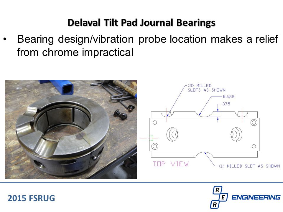 Delaval Tilt Pad Journal Bearings