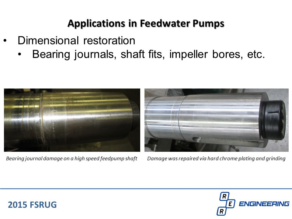 Applications in Feedwater Pumps