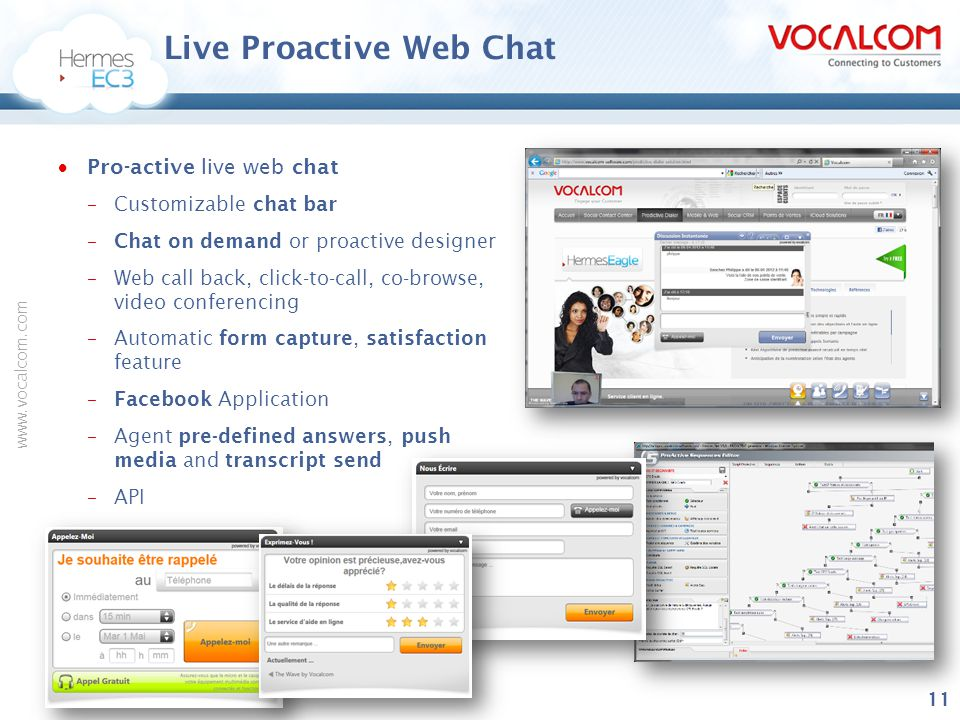 Live Proactive Web Chat