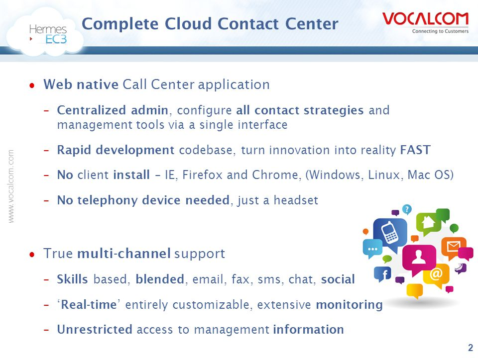 Complete Cloud Contact Center