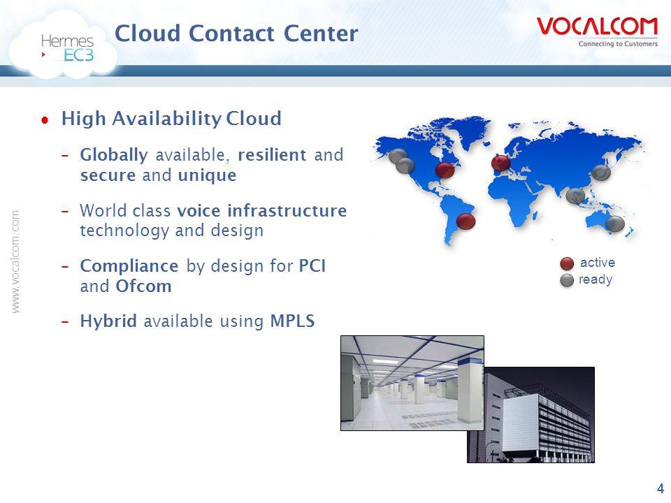 Cloud Contact Center High Availability Cloud