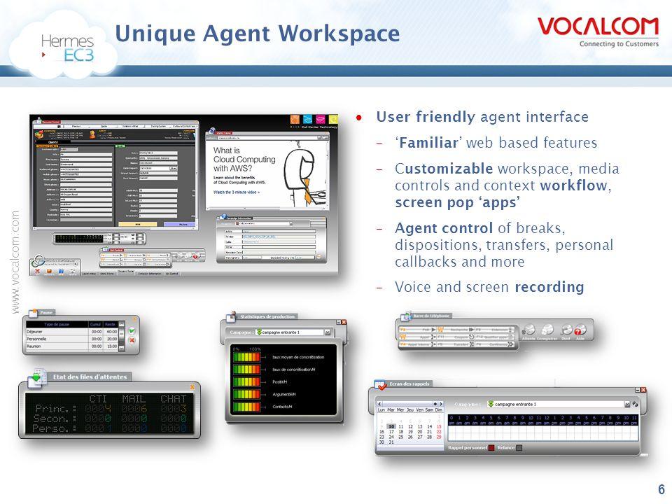 Unique Agent Workspace
