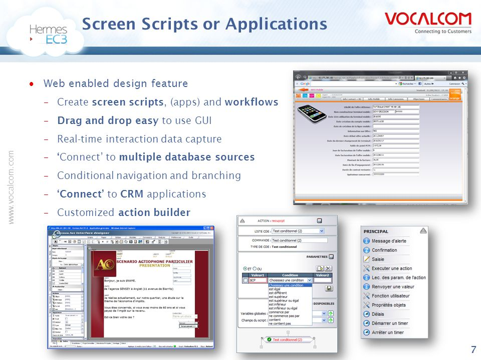 Screen Scripts or Applications
