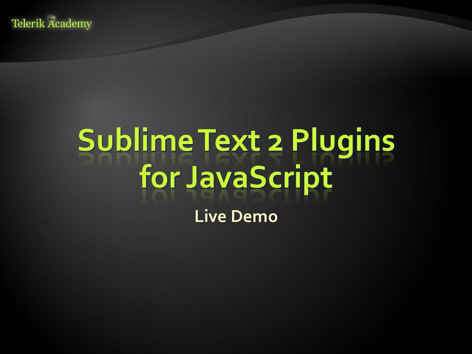 Sublime Text 2 Plugins for JavaScript