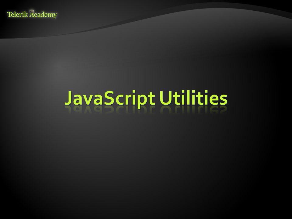 JavaScript Utilities