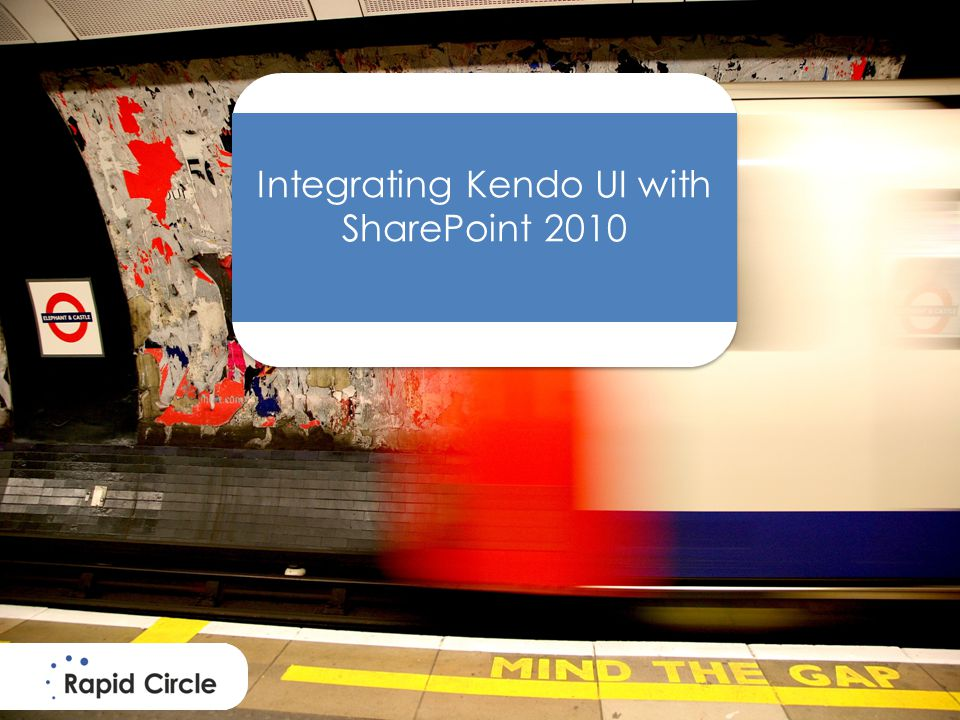 Integrating Kendo UI with SharePoint 2010