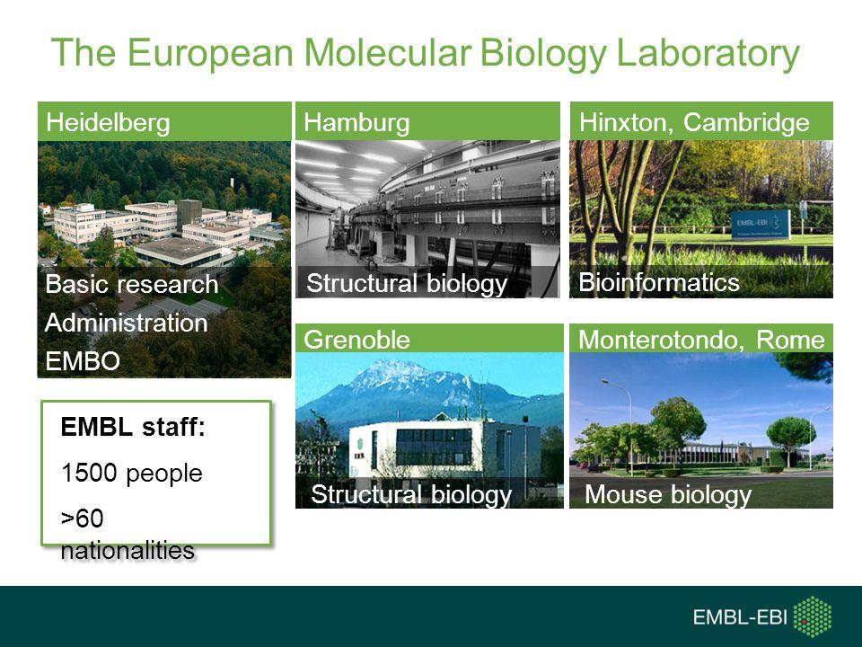 The European Molecular Biology Laboratory