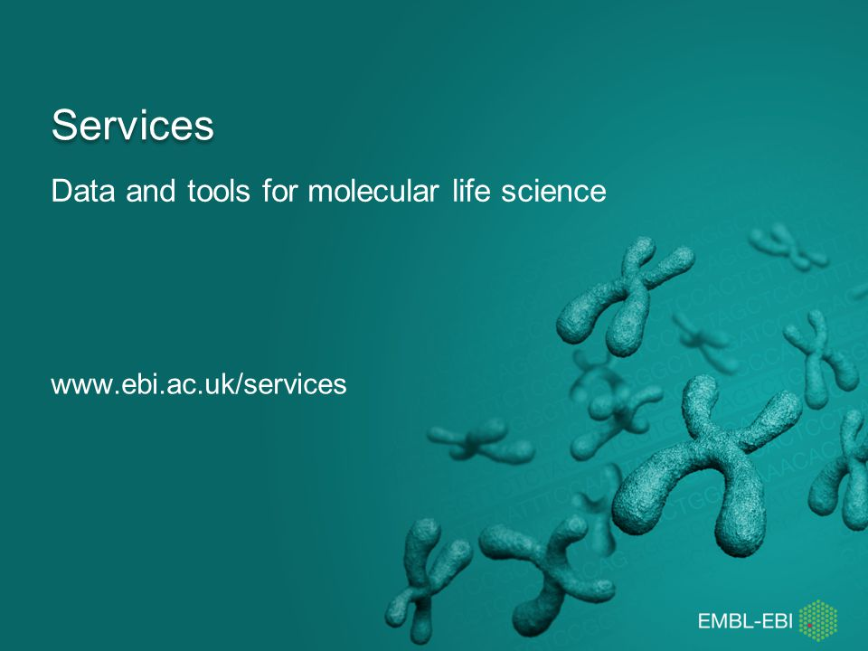 Data and tools for molecular life science