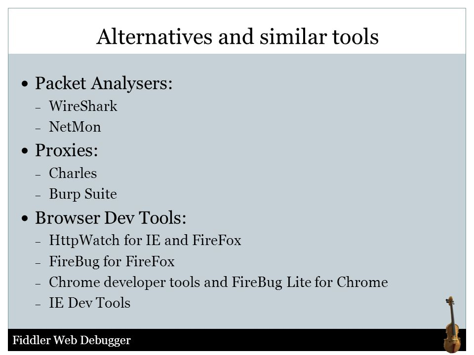 Alternatives and similar tools