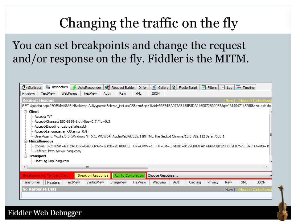Changing the traffic on the fly