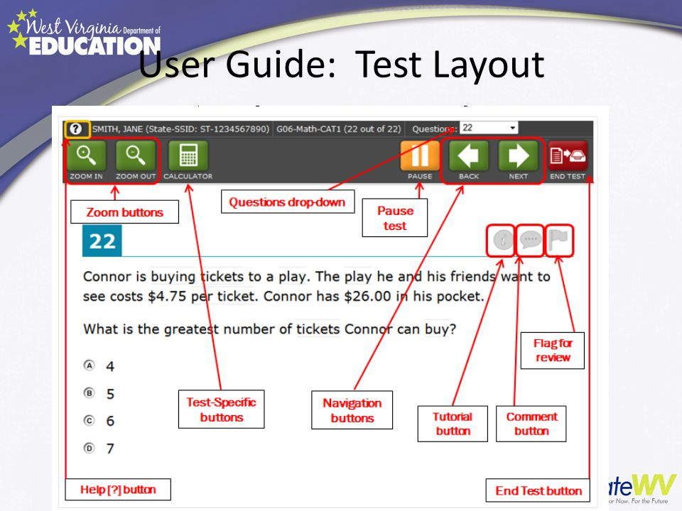 User Guide: Test Layout