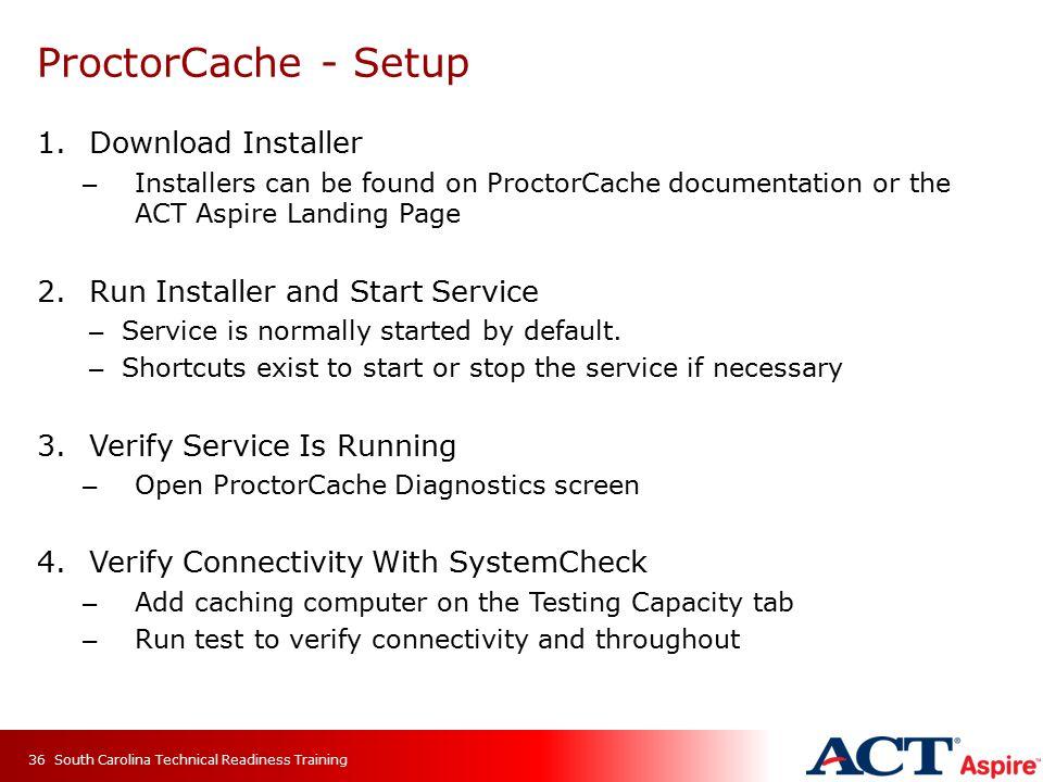 ProctorCache - Setup Download Installer
