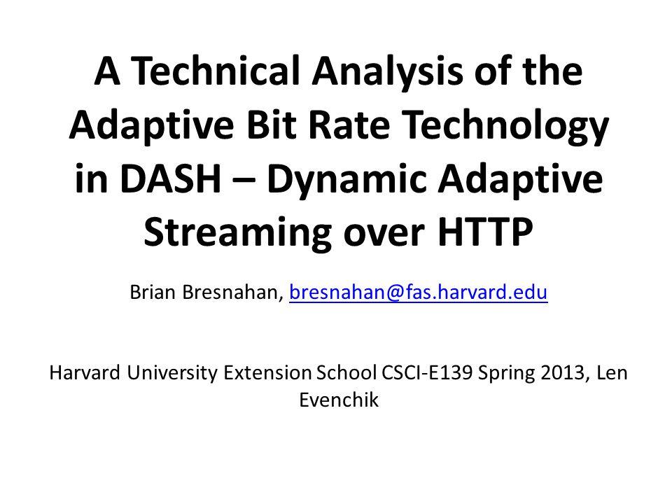 Brian Bresnahan, bresnahan@fas.harvard.edu