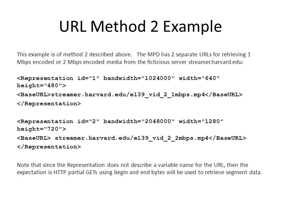 URL Method 2 Example