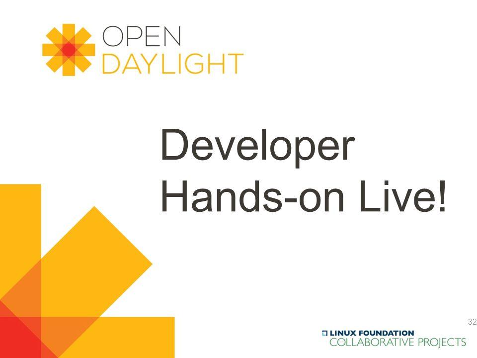 Developer Hands-on Live!