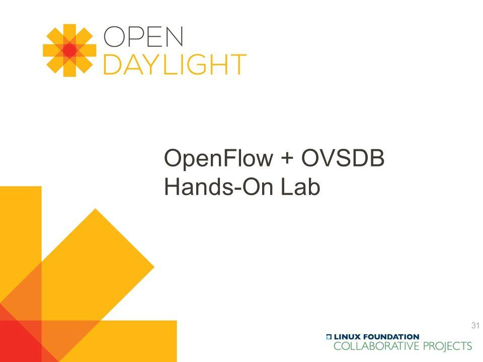 OpenFlow + OVSDB Hands-On Lab