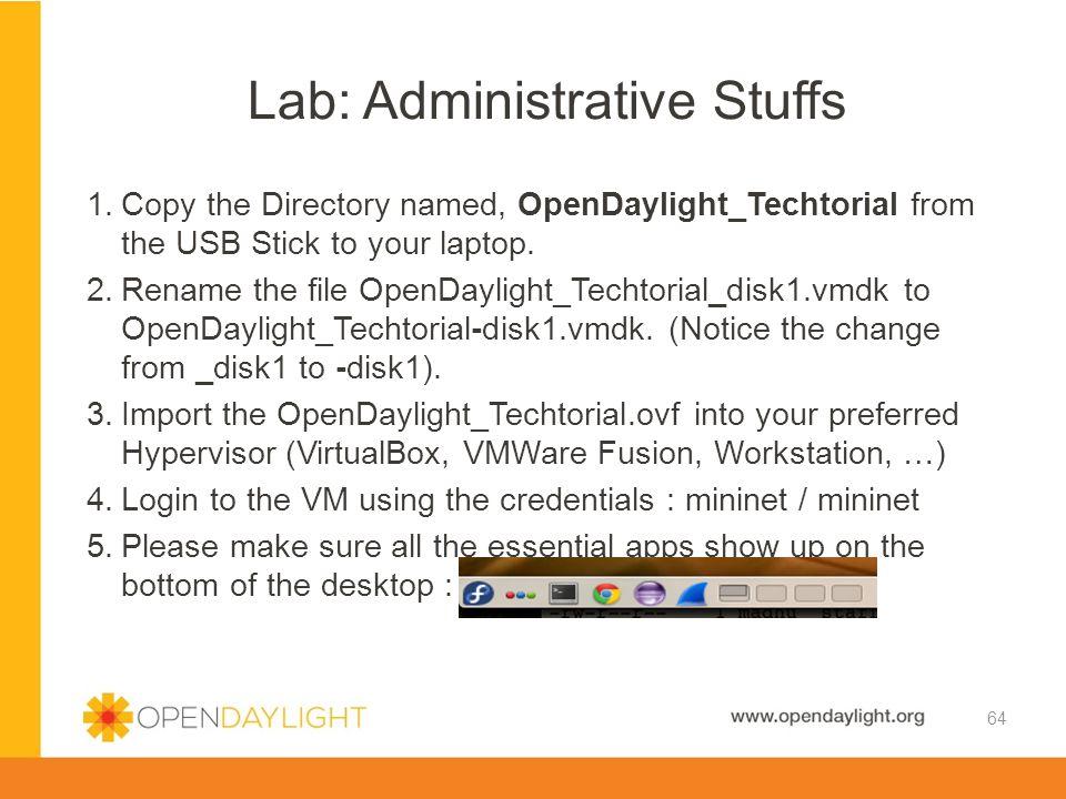 Lab: Administrative Stuffs