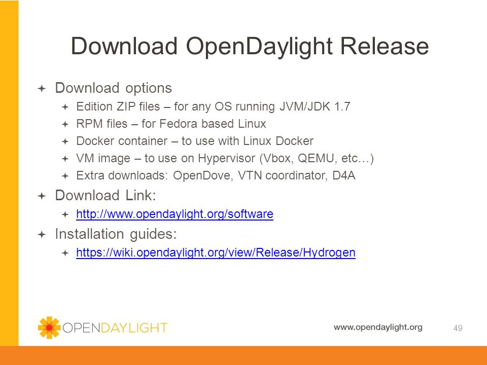 Download OpenDaylight Release