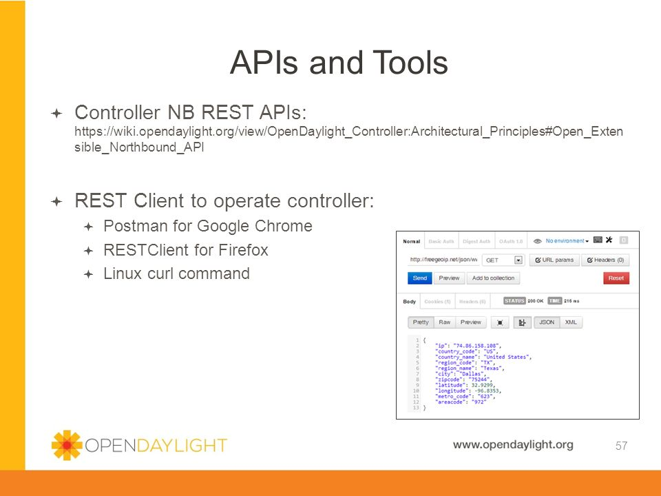 APIs and Tools