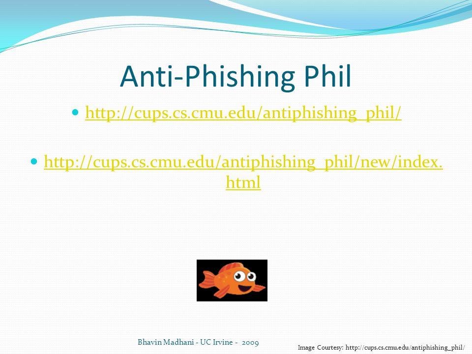 Image Courtesy: http://cups.cs.cmu.edu/antiphishing_phil/