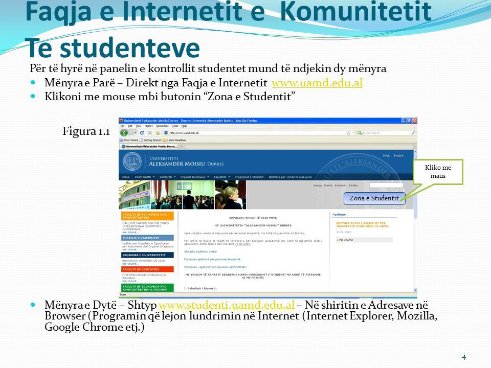 Faqja e Internetit e Komunitetit Te studenteve