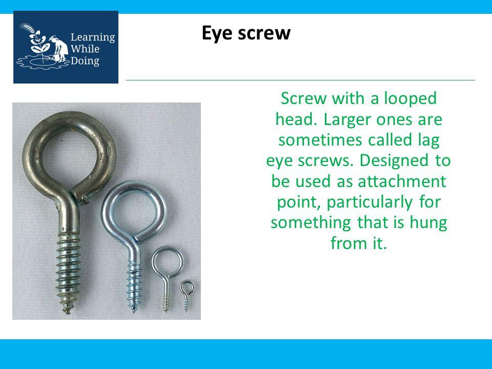 Eye screw