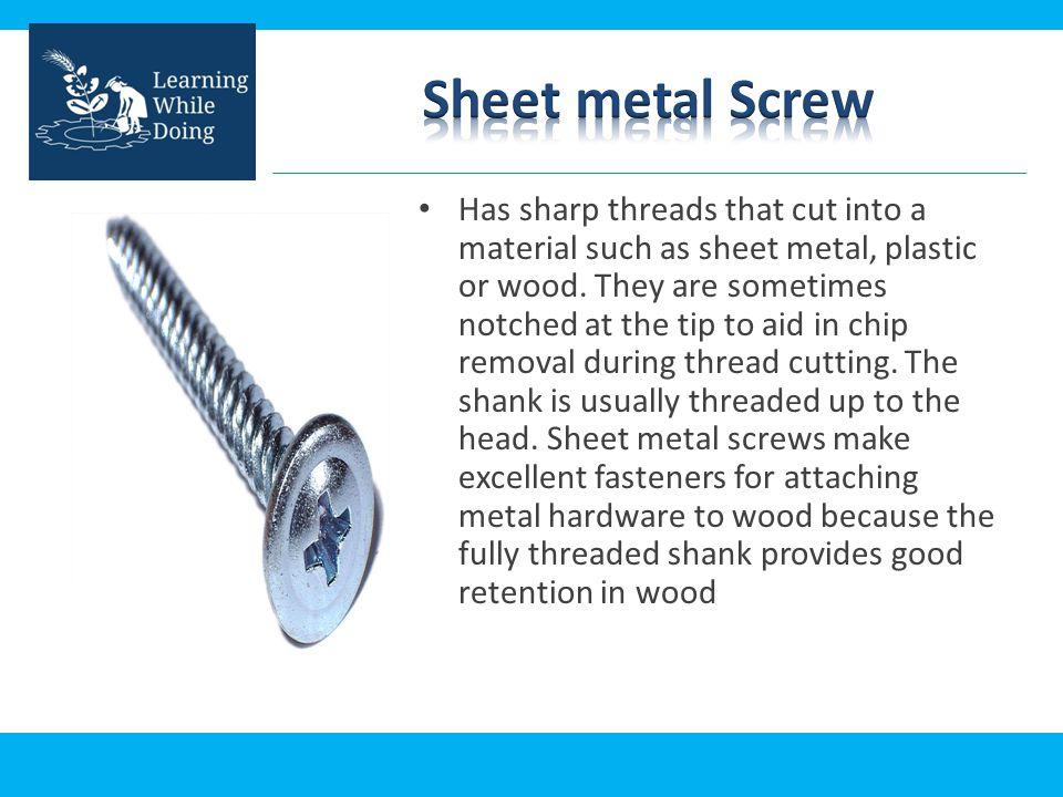 Sheet metal Screw