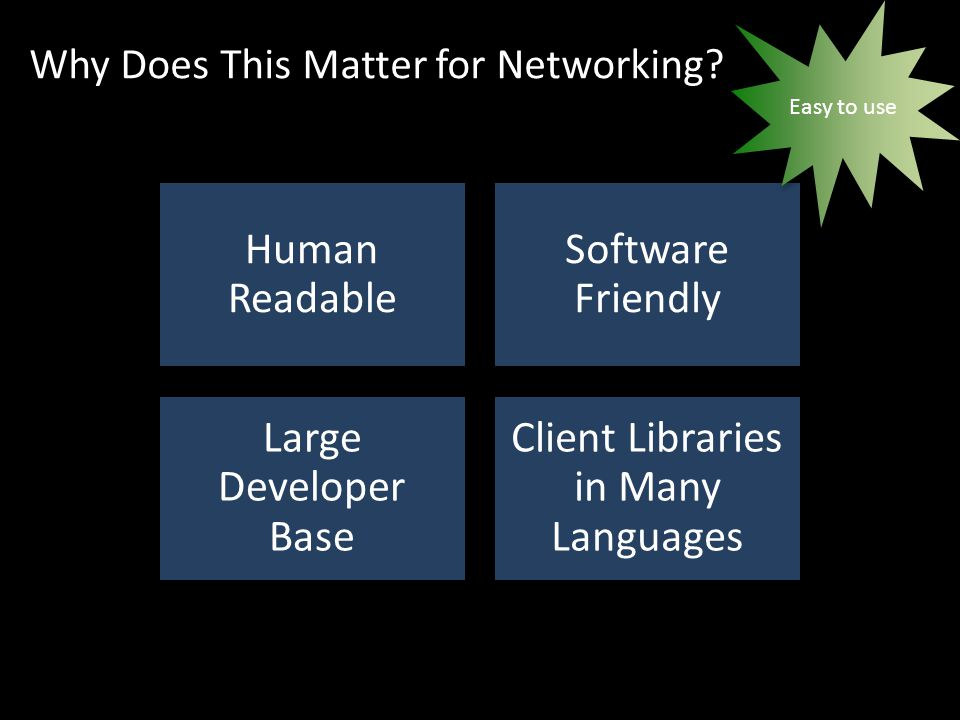 Why Does This Matter for Networking