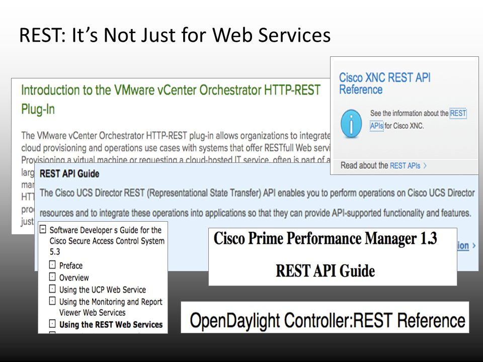 REST: It's Not Just for Web Services