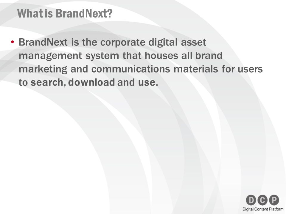 What is BrandNext