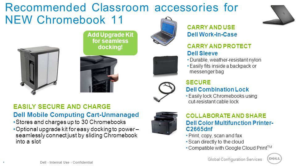 Recommended Classroom accessories for NEW Chromebook 11