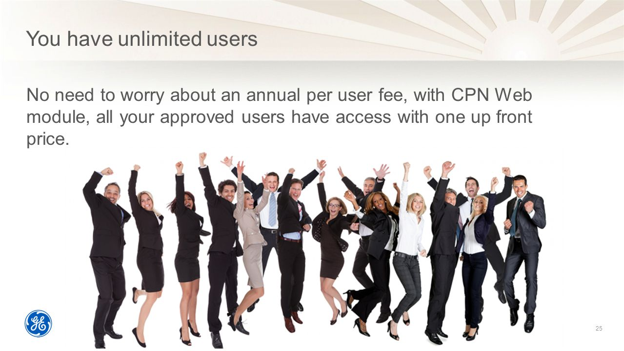 You have unlimited users