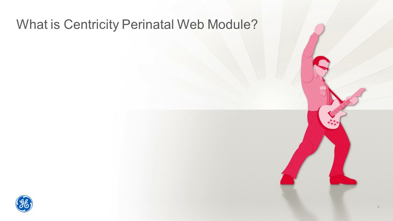 What is Centricity Perinatal Web Module