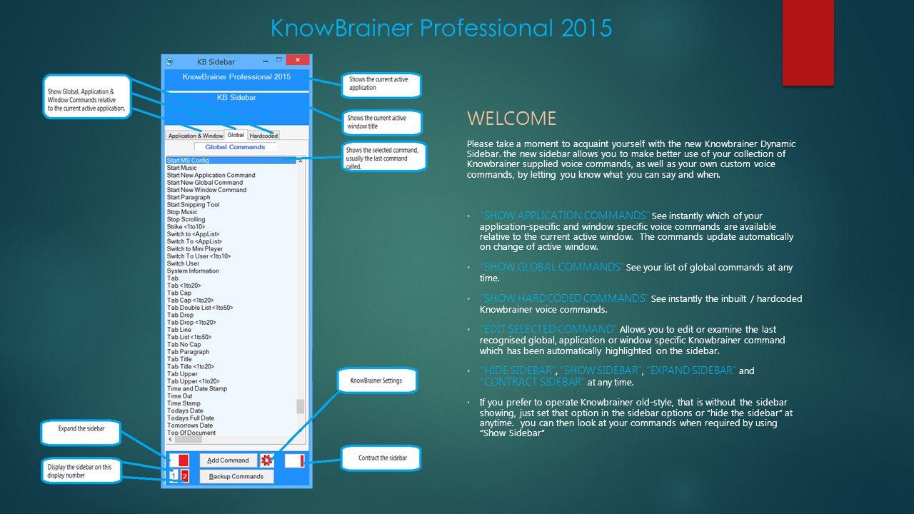 KnowBrainer Professional 2015