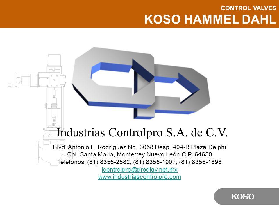 Industrias Controlpro S.A. de C.V.