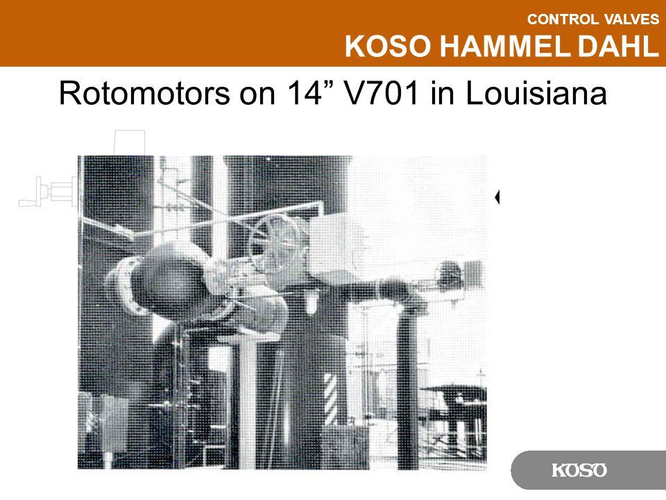 Rotomotors on 14 V701 in Louisiana