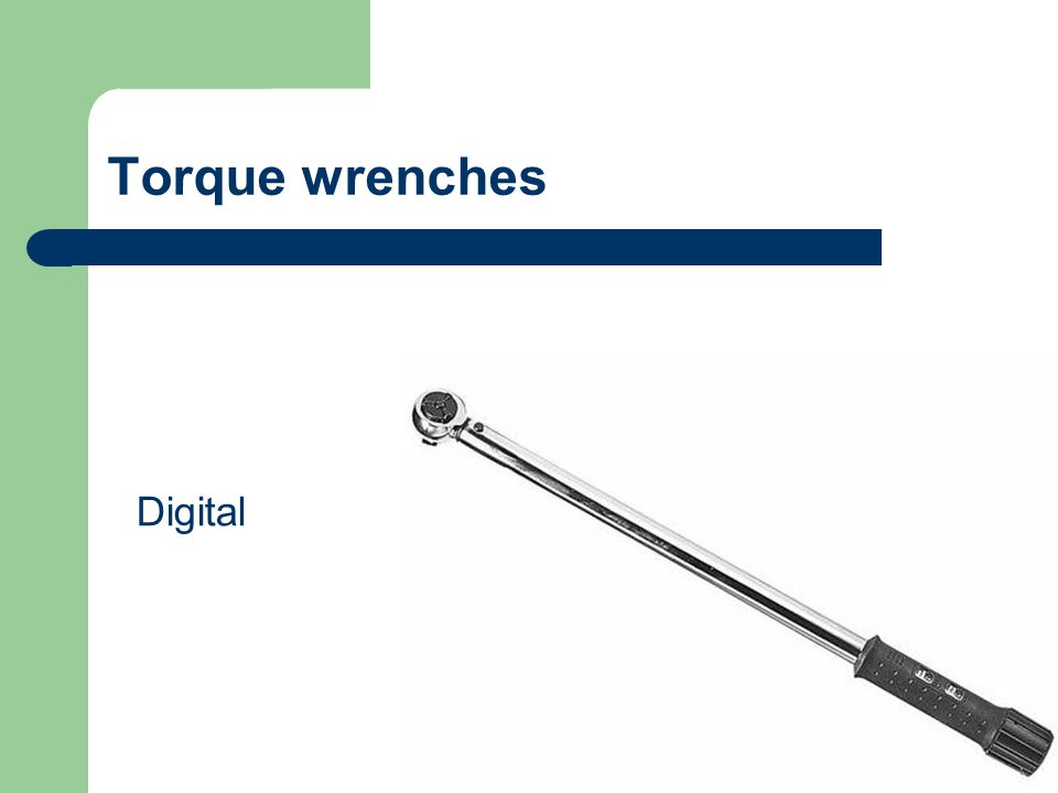 Torque wrenches Digital