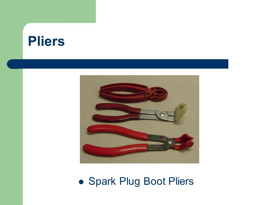 Pliers Spark Plug Boot Pliers