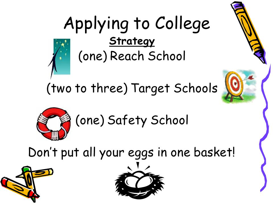 (two to three) Target Schools