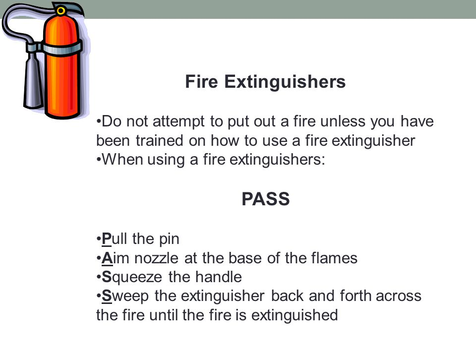 Fire Extinguishers PASS