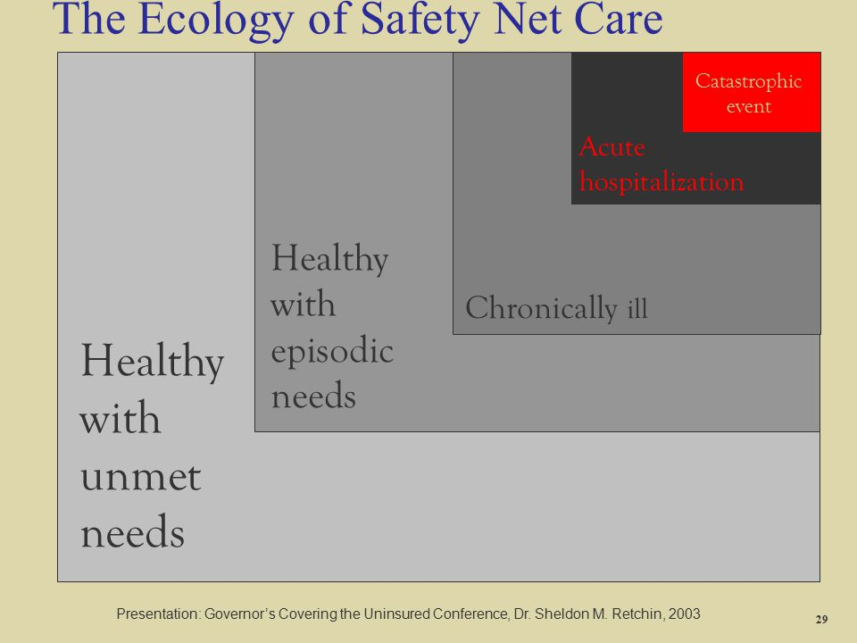 The Ecology of Safety Net Care