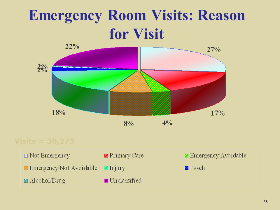 Emergency Room Visits: Reason for Visit