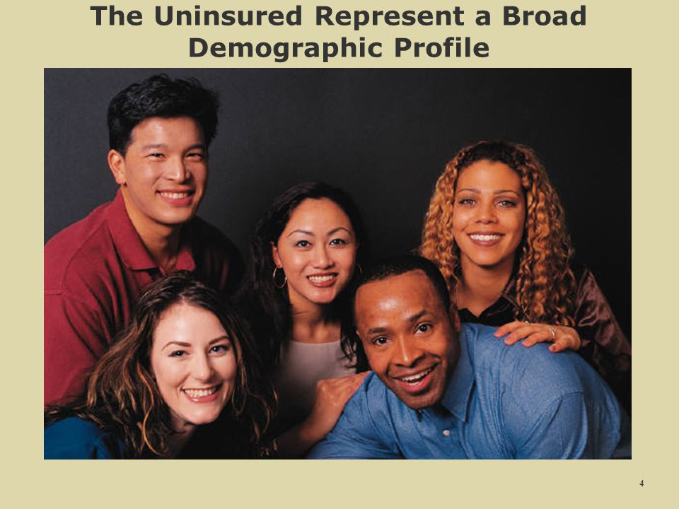 The Uninsured Represent a Broad Demographic Profile