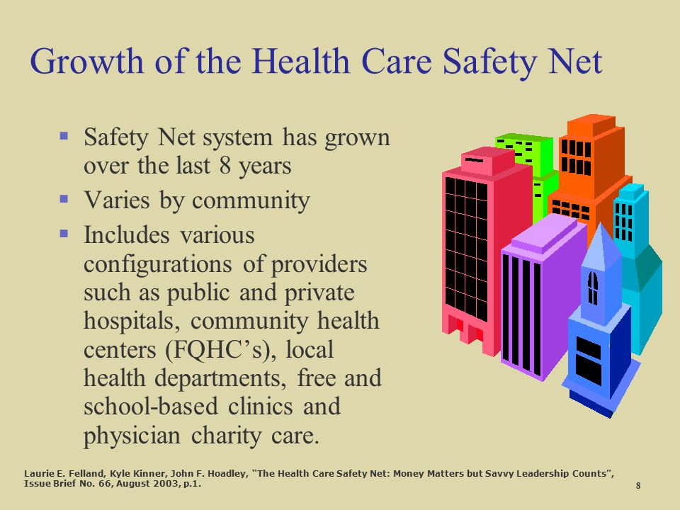 Growth of the Health Care Safety Net