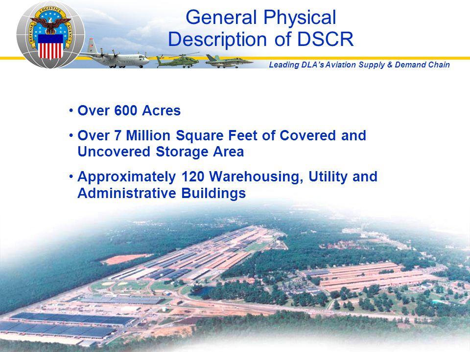 General Physical Description of DSCR