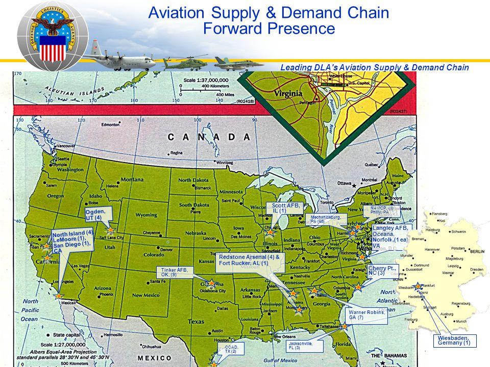 Aviation Supply & Demand Chain Forward Presence