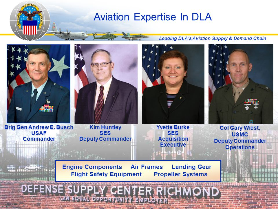 Aviation Expertise In DLA