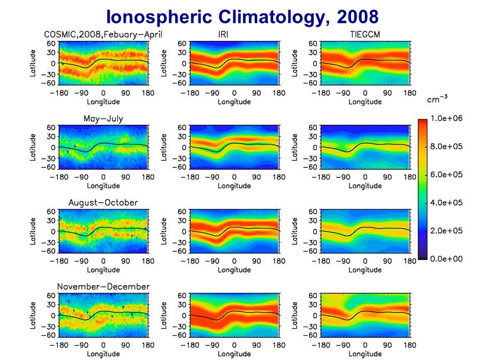 Ionospheric Climatology, 2008