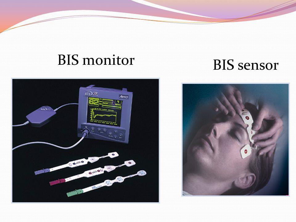 BIS monitor BIS sensor